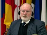 """Timmermans: """"Parlamentul României nu a dat semne să reacţioneze la recomandările făcute de Comisia de la Veneţia"""""""