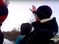 Cinci copii s-au filmat pe calea ferată, în timp ce trenul venea spre ei cu viteză
