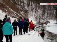 Avalanșa din Cheile Tișiței ar fi fost provocată de două cutremure. O turistă din Capitală a murit