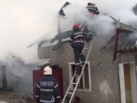 Sfârșit tragic pentru un bărbat din Bistrița. A incendiat casa și s-a închis înăuntru