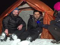Pregătiri intense făcute de doi români, care vor porni într-o cursă pe lacul Baikal