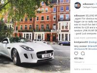 Un britanic își vinde mașina de lux, un Jaguar, cu 20 de lire. Metoda prin care adună bani