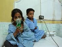 Posibil atac chimic asupra rebelilor, în Siria. 18 cazuri de sufocare raportate