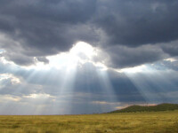 Temperaturi schimbătoare și ploi în mai multe zone ale țării. Cum va fi vremea în weekend
