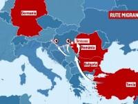 """România, rol-cheie în cazul migranților care vor în Germania. Traficanții folosesc metoda """"Hawala"""""""