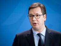 Preşedintele Serbiei avertizează că nu mai sunt locuri în spitale şi cere încetarea protestelor