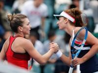 Duel românesc la Roland Garros. Simona Halep a învins-o pe Irina Begu în două seturi