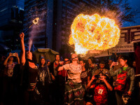 Protest de Ziua Internațională a Femeii, în Sao Paulo