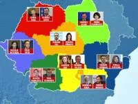 Congresul extraordinar al PSD. Viorica Dăncilă a devenit numărul 2 în partid. Lista completă a vicepreședinților
