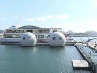 Turism inedit, în Japonia. Oamenii se pot caza în capsule care plutesc pe apă