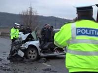 Accident grav comis de un şofer beat, în Vaslui. Un om a murit, 4 sunt răniţi