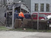 Un bărbat a murit strivit de acoperişul unei construcţii care s-a prăbușit