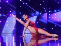 Românii au talent. Cesima, dansatoarea care i-a convins pe Smiley și Bartoș să apese butonul auriu