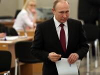 Alegeri prezidențiale în Rusia. Putin - 76,42%, după numărarea a 90% din voturi. Participarea la vot: 59,93%