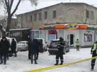 Explozie puternică într-un magazin din Chişinău, soldată cu doi morţi