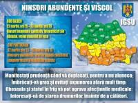 ANM: Până săptămâna viitoare vor fi temperaturi negative în aproape toată ţara, de până la -12 grade