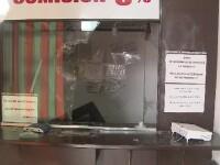 Spargere la o casă de schimb valutar din Arad. Hoţii au plecat cu seiful