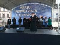 Manifestație împotriva avorturilor, la Cluj: 2000 de persoane au participat la \