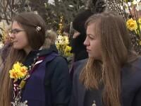 Duminica Floriilor. Procesiune impresionantă în București