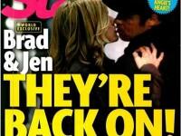 """Întâlnire """"pasională"""" între Brad Pitt şi Jennifer Aniston. Cum ar fi fost pozați"""