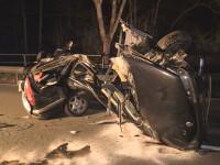 Român mort într-un accident violent, în Germania. A fost proiectat la 70 metri distanță după impact