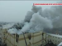 Nereguli grave descoperite la mall-ul cuprins de flăcări, în Rusia. Ușile de urgență erau încuiate