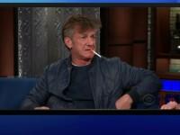 Gest șocant al lui Sean Penn. Actorul și-a aprins o țigară în direct la TV