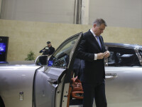 Iohannis, la uzina Dacia: