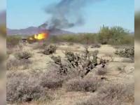 Balon cu aer, prăbuşit în Arizona. 13 turişti se aflau în el în momentul în care a luat foc