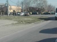 Accident grav în Ploiești. Elicopterul SMURD, aşteptat la faţa locului