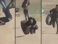 Moarte în Fâșia Gaza. Momentul în care un palestinian este împușcat în spate. VIDEO