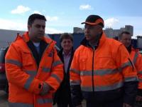Ministrul Transporturilor a anunţat o autostradă care momentan e doar teren agricol