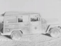 Efectul înfricoșător al bombei atomice asupra unor mașini, redat în high definition. VIDEO