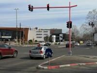 Soluția Primăriei Constanța pentru numărul mare de accidente. Cum arată semafoarele dintr-o intersecție