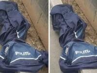 Uniforme de poliţişti, găsite pe jos, în Arad. Ar fi fost purtate de oamenii străzii