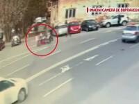 Incident înfiorător. Un bătrân care se odihnea pe o bancă, rănit grav de un motociclist