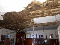 Incendiu la o casă din Arad. O persoană a murit, iar alte două au fost rănite. FOTO