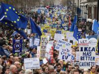 Protest cu un milion de oameni, la Londra. Ei cer un nou referendum pentru Brexit. VIDEO