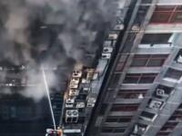 Incendiu puternic în Bangladesh. Cel puțin 27 de răniți. VIDEO