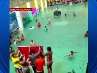 Cum a fost transformată curtea interioară a unei închisori în piscină