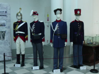 Expoziţie despre jandarmi, la Palatul Culturii.
