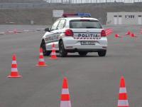 Antrenamente pe un circuit de mare viteză pentru 750 de poliţişti din Mureş