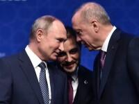 Întâlnire între Putin și Erdoğan la Moscova, pe tema conflictului din Idlib