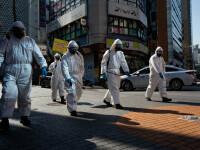 Scade numărul de contaminări cu noul coronavirus în China și Coreea de Sud
