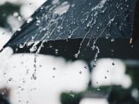Cod portocaliu de vreme instabilă şi ploi în 15 judeţe. Cod galben în alte 14