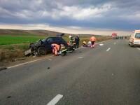 Patru morți într-un accident cumplit la Bârlad