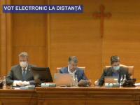 Parlamentul a votat în unanimitate starea de urgenţă. Prima şedinţă online din istoria României