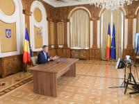 Iohannis participă la o videoconferinţă a Consiliului European pe tema combaterii COVID-19