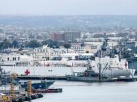 Marina SUA trimite spitale plutitoare ca să ajute bolnavii de Covid-19 din New York