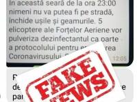 MApN: Elicoptere militare NU vor pulveriza deasupra Bucureștiului substanțe dezinfectante